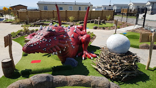 Dragon's Quest Adventure Golf course at Fontygary Leisure Park