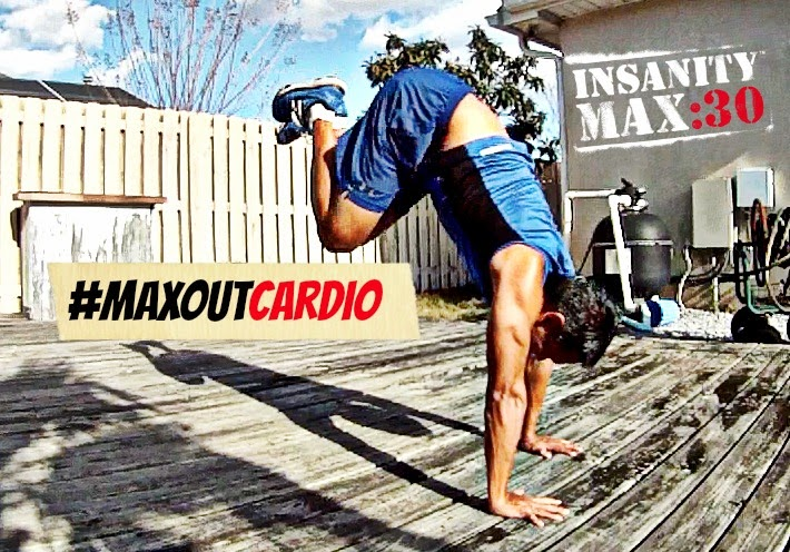 Insanity MAX 30 - MAX OUT CARDIO Workout | Arnel Banawa