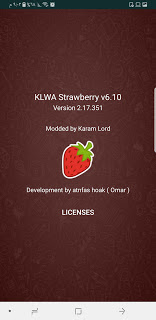 KLWhatsApp v6.10 Strawberry Edition