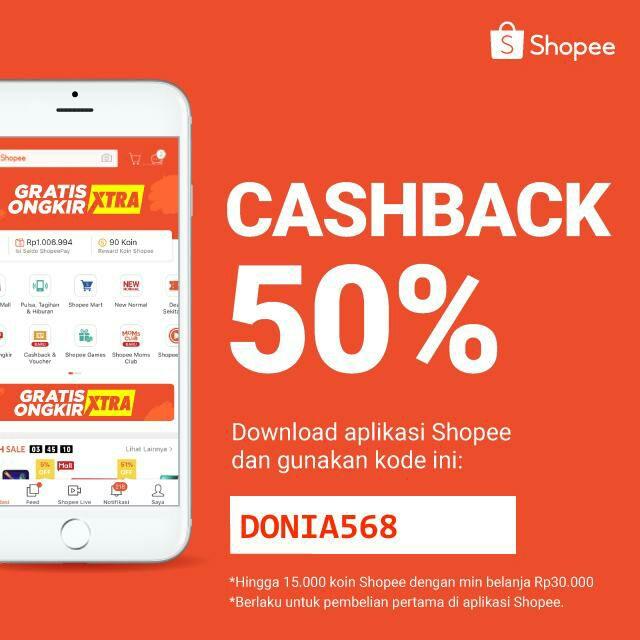 Cara Mendapatkan Cashback 50 Persen di Shopee