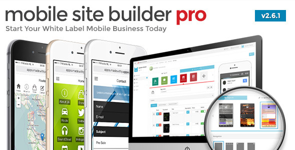Download - Mobile Site Builder Pro – v2.7.0 Script