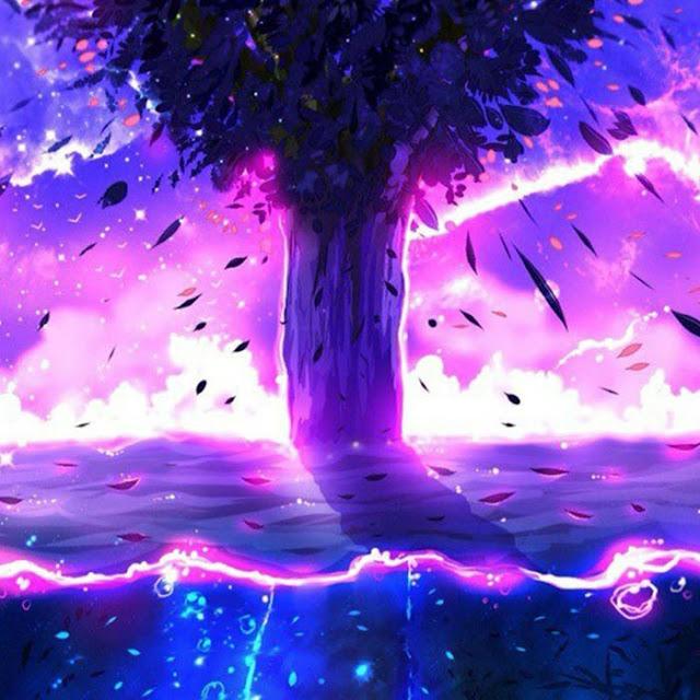 Purple Landscape Wallpaper Engine