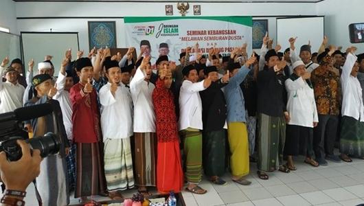 Forum Ulama Muda Tasikmalaya Deklarasi Dukung Jokowi-Ma'ruf