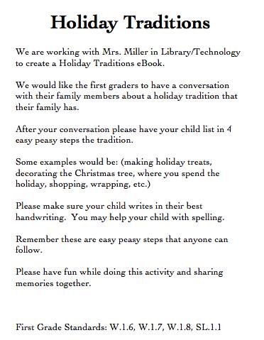 Holiday essays