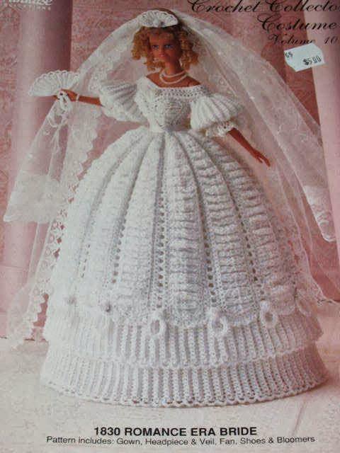 Vestidos de noiva para Barbie - Bridal dresses for barbie dolls - Para inspirar nossas criações 4