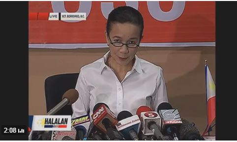Grace Poe concedes to Rodrigo Duterte