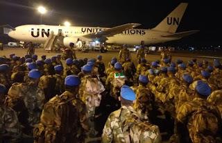 Komandan PMPP TNI Lepas Satgas Kizi TNI Konga XXXVII-E/MINUSCA CAR ke Afrika