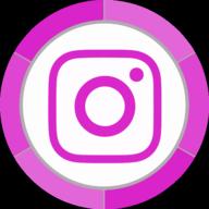 instagram button icon