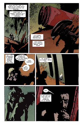 aliens salvations mignola
