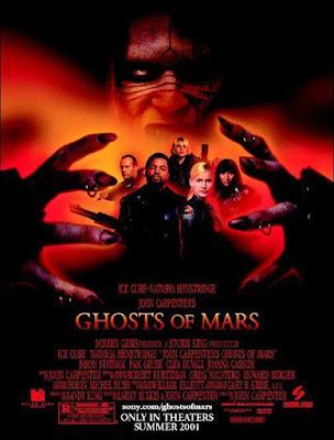 John Carpenter's Ghosts of Mars 2001 DVD R1 NTSC Latino