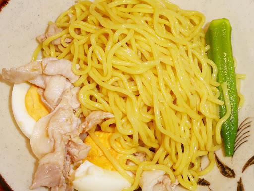 【シマダヤ】冷し中華 スープでほぐすだけ 流水麺(りゅうすいめん) 醤油味 国産黒酢使用
