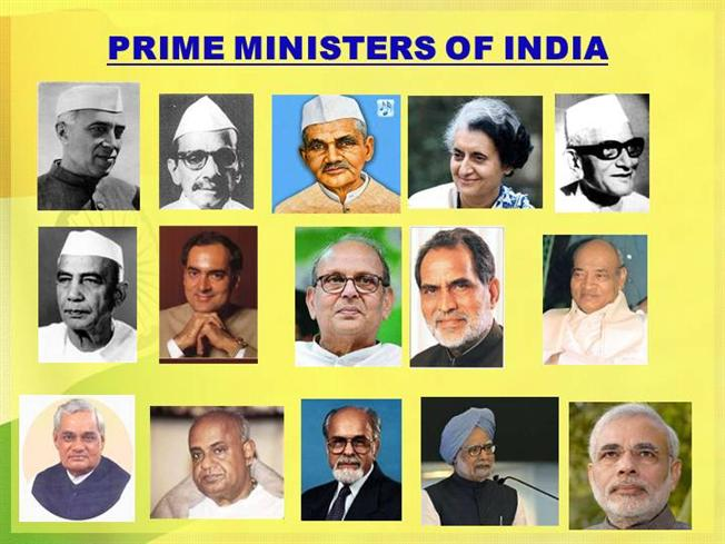 List of Indian Prime Minister