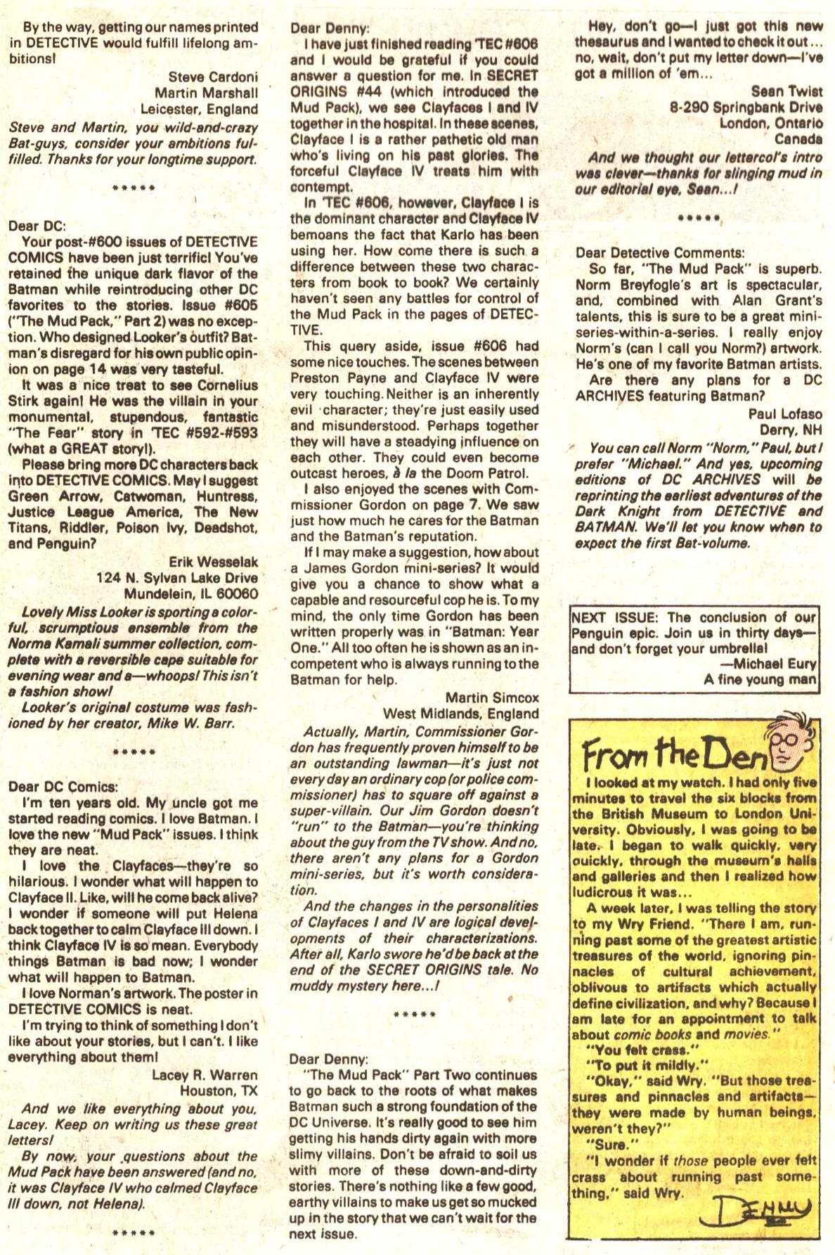 Detective Comics (1937) 610 Page 23