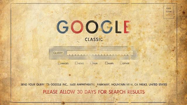 Google hace 100 años