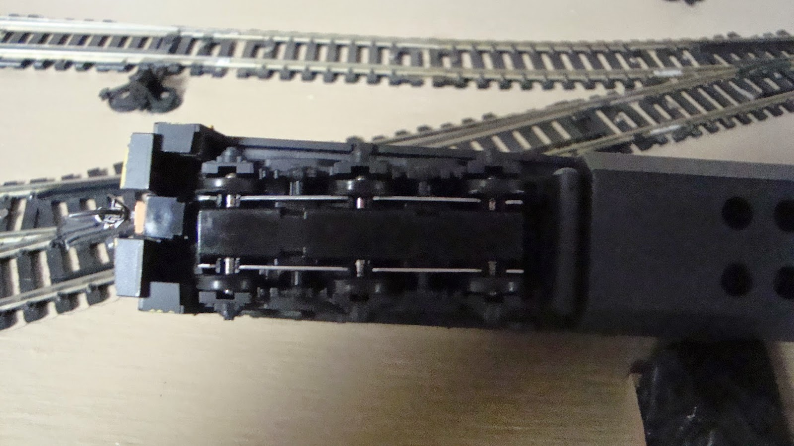 New York Central Train Layout: Penn Central Six Axle U-Boat