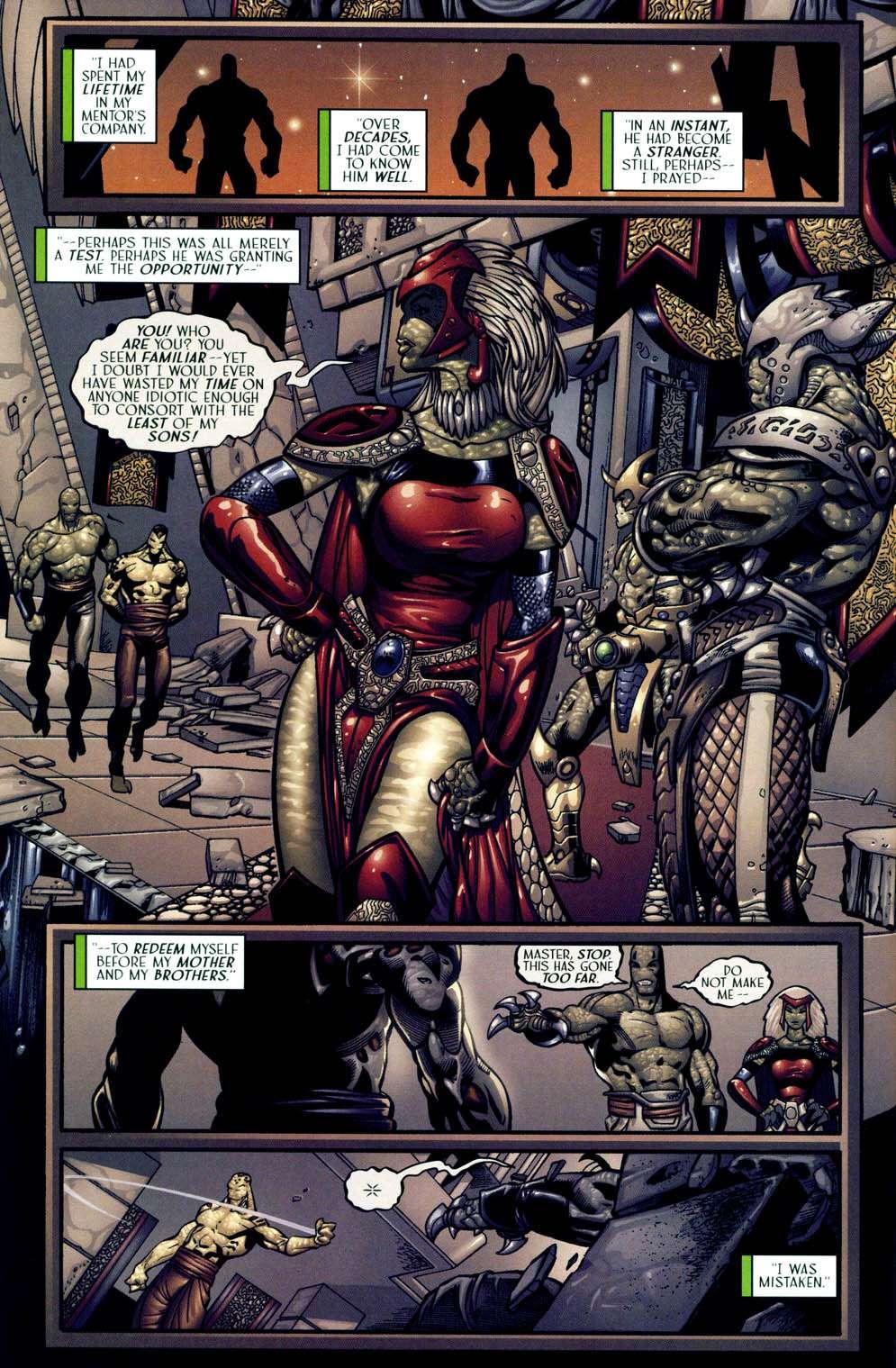 Read online Sigil (2000) comic -  Issue #13 - 10