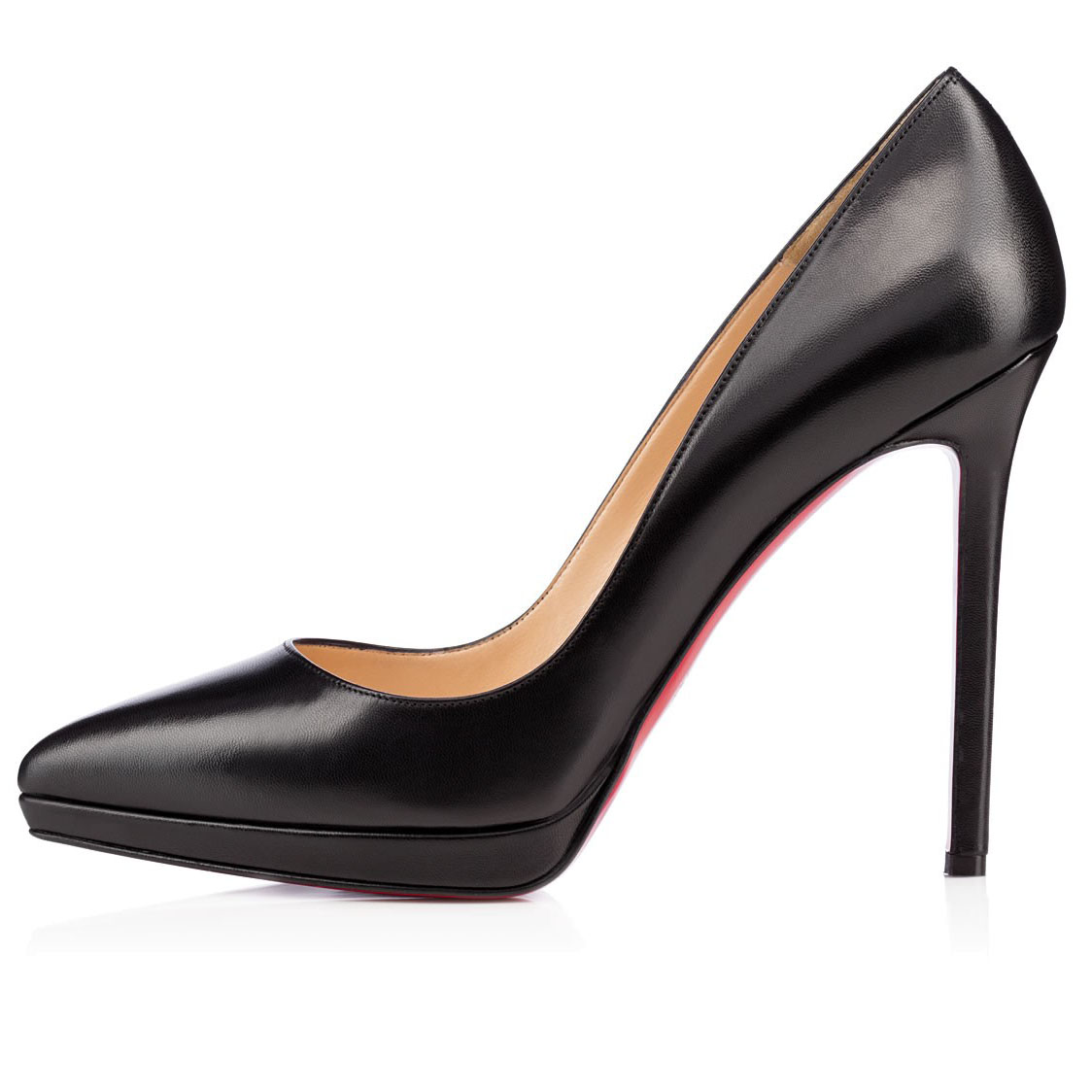 24b4def5caa CHRISTIAN LOUBOUTIN PIGALLE PLATO 120MM BLACK KID LEATHER - Reed ...