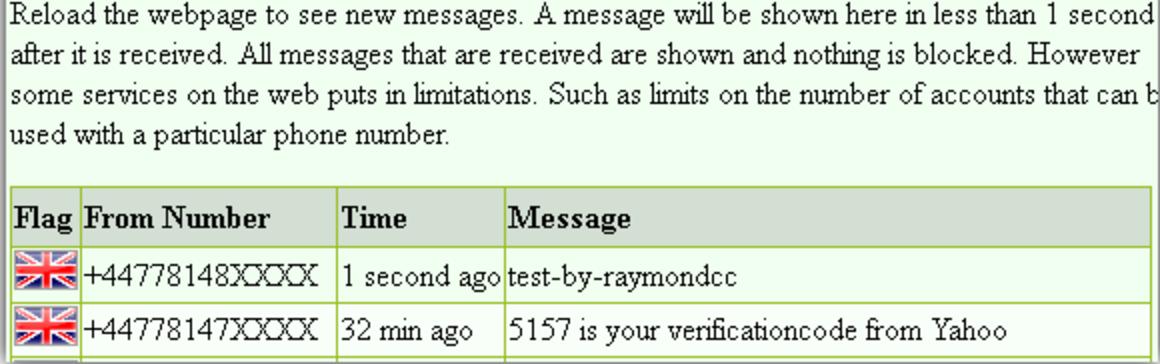 Виртуальный номер для активаций и приема СМС