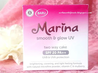 Marina Smooth & Glow UV Two Way Cake Review
