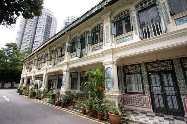 Shop house di Petain road-Singapore