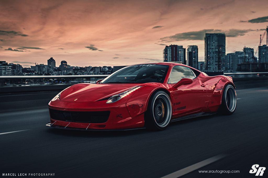 Tuning: Liberty Walk Ferrari 458 F7LTHY von SR Auto Group ...