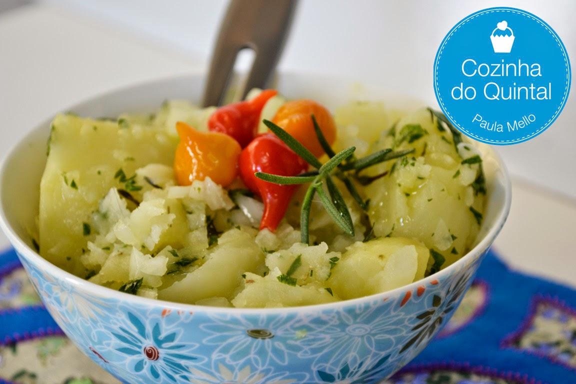 Salada Alemã com Molho de Mostarda e Pimenta Biquinho