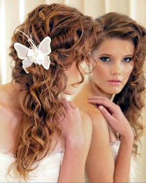 Peinados rizos ligeros