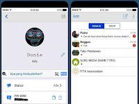 Download BBM MOD Style IOS V3.3.4.48 Apk