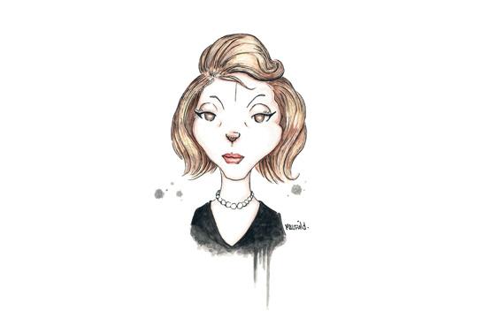 Caricatura-clarice-lispector