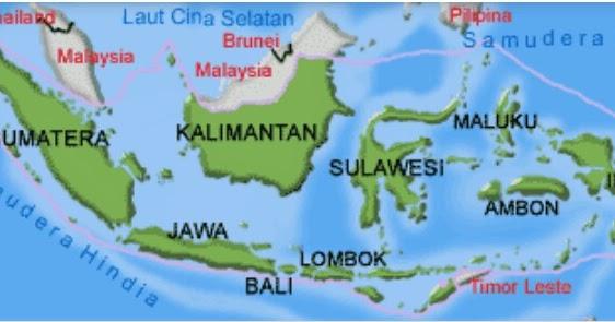 Republik indonesia, disingkat ri atau indonesia, adalah negara di asia tenggara yang. Pengertian Peta Dan Komponen Penyusunnya