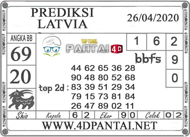PREDIKSI TOGEL LATVIA PANTAI4D 26 APRIL 2020