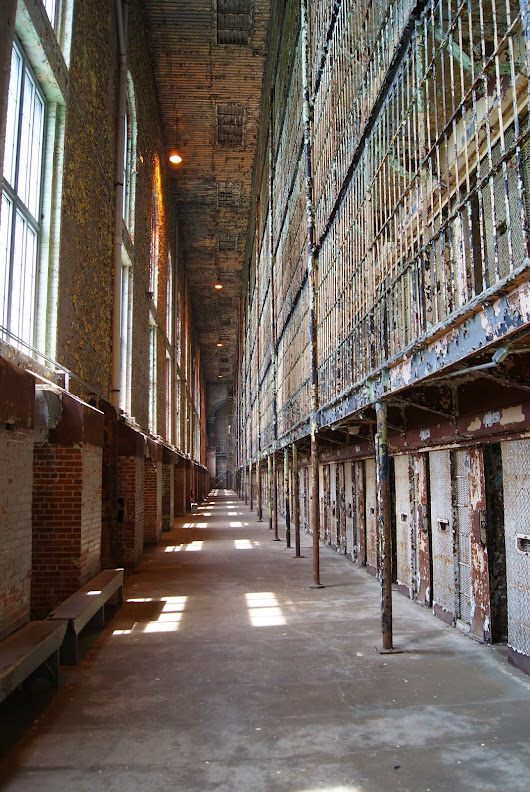 Travel here if you dare! The Ohio State Reformatory (Mansfield Reformatory)