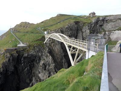 Bridge spanning the gorge at Mizen Head