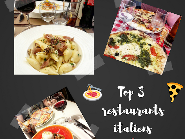 TOP 3 des meilleurs restaurants italiens de Versailles