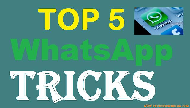 Top WhatsApp Tricks
