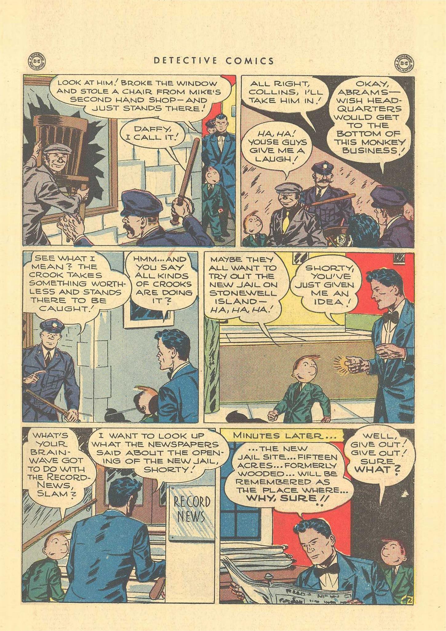 Read online Detective Comics (1937) comic -  Issue #109 - 17