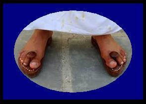 आइये जानते है कि साधु-संत खड़ाऊ क्यों पहनते हैं? - Sadhu sant khdau kyo pahnte hai?
