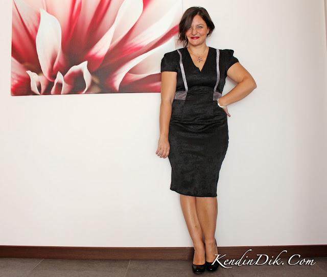 siyah elbise tasarım moda blog