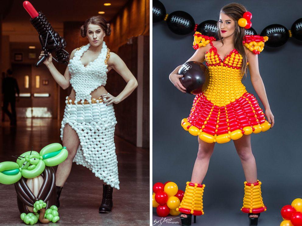 Balloon Type Dress