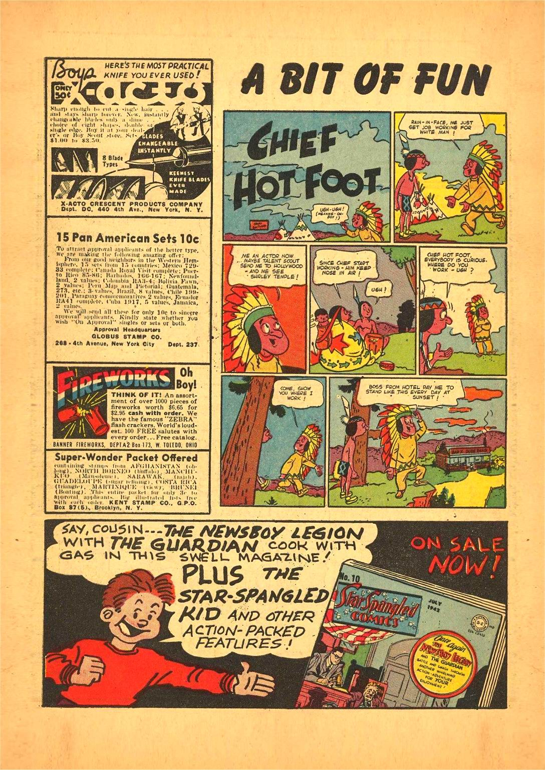 Read online Action Comics (1938) comic -  Issue #50 - 64