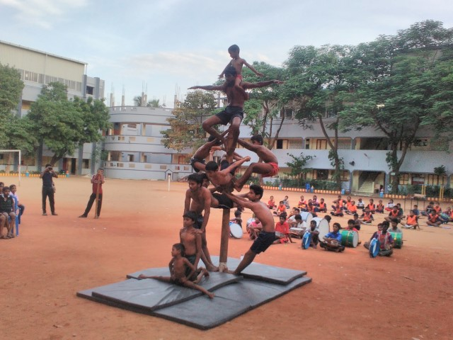 Include 'Silambam' in Olympics, National Sports Day celebrated in chennai