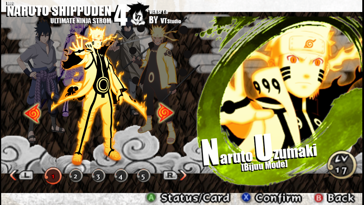 download naruto shippuden ultimate ninja storm for ppsspp
