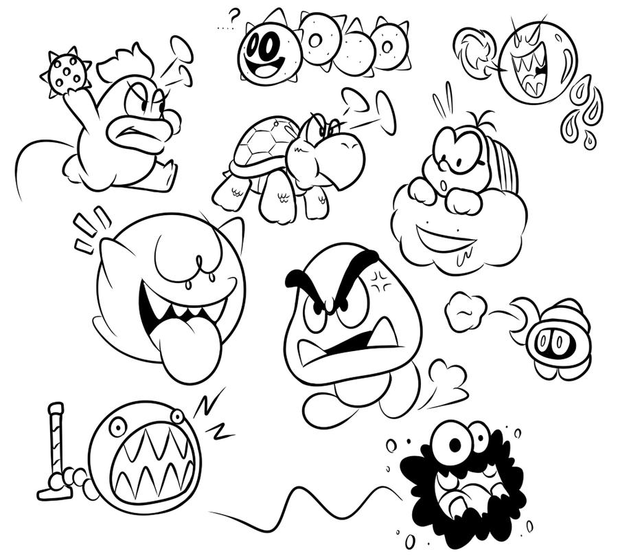 kisiel rysunkowy: Temat #33 - Doodles, epizod 2