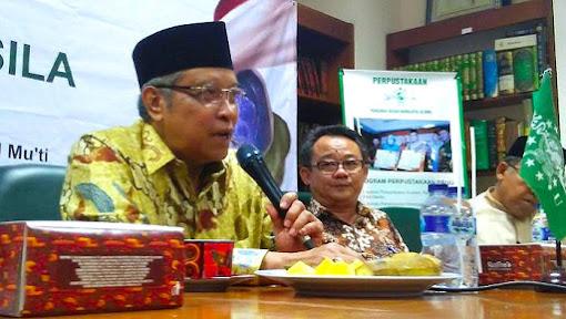NU dan Muhammadiyah Sepakat Indonesia Negara Kebangsaan