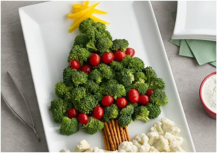 7 recetas con forma abetos de Navidad