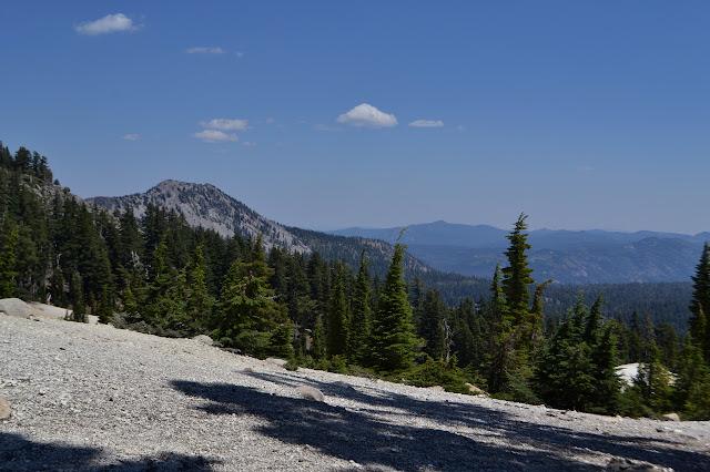 bumps along the ridge