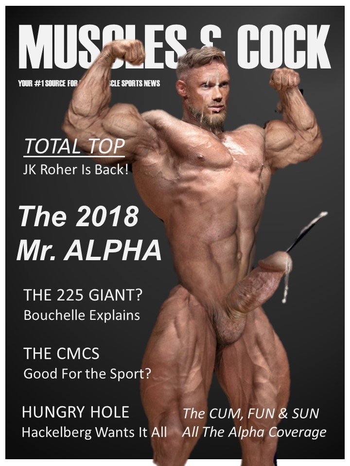 Muscle man dick blog