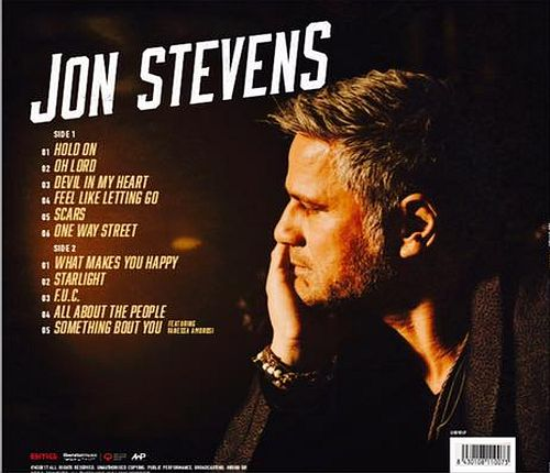 JON STEVENS (Noiseworks / Dead Daisies) - Starlight (2017) back