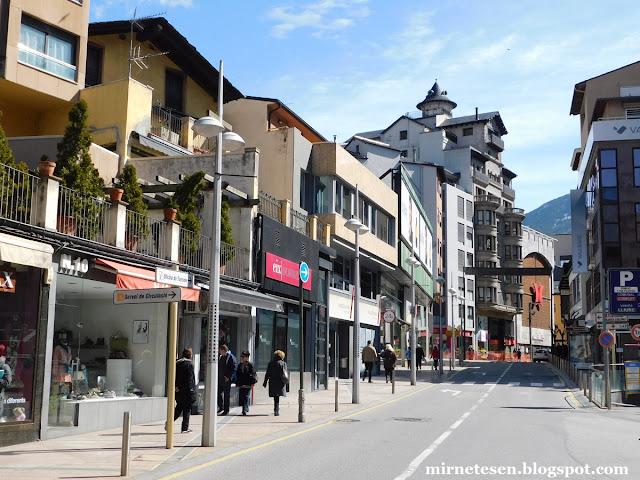 Андорра-ла-Велья - центр города