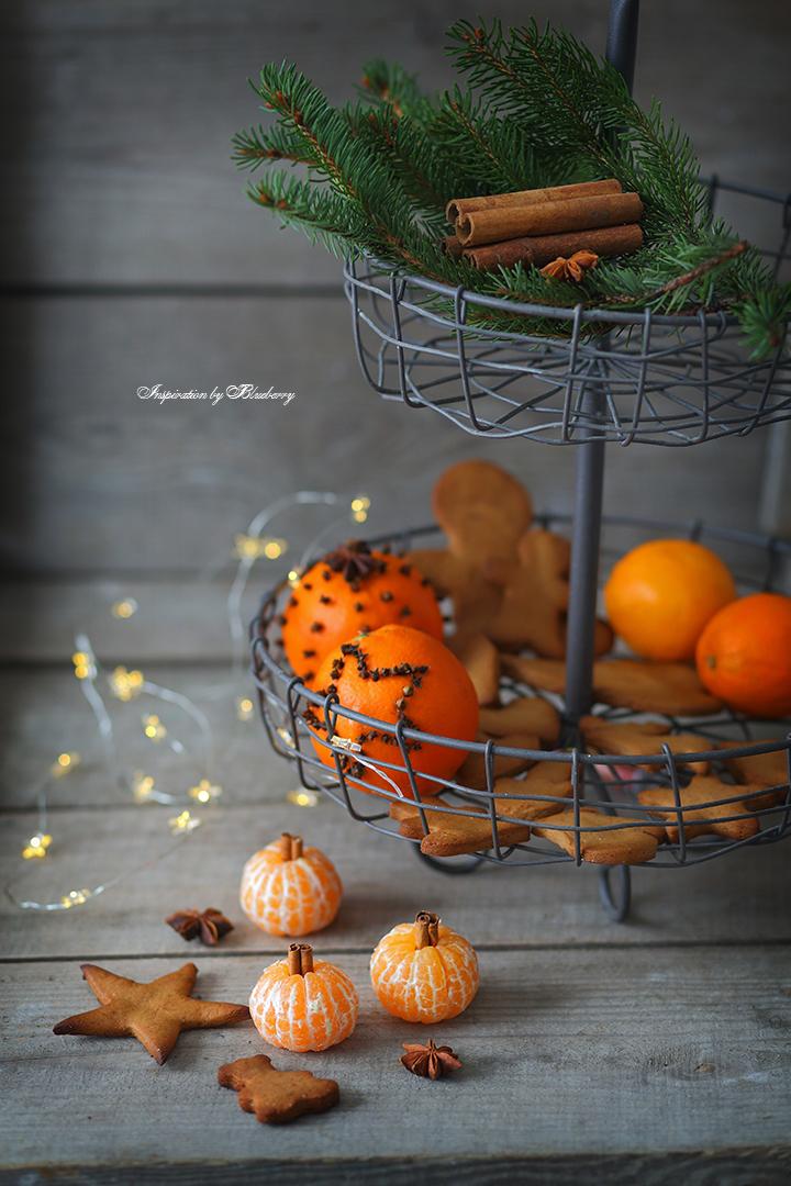 blueberry christmas wreath